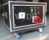 供應舞藝9路航插配電箱 航空箱配電櫃 可定製