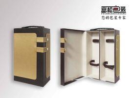 保健酒包装盒厂家保健酒皮包装盒生产设计定制