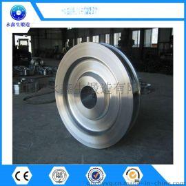 供应车轮锻件 42CrMo车轮 起重机车轮锻件