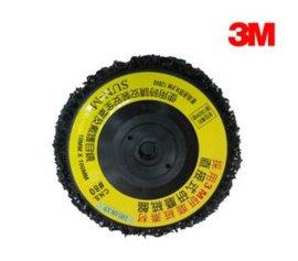 3M 原装 黑金刚胶盖 4英寸(塑料螺纹)/4英寸*16MM 180片/件
