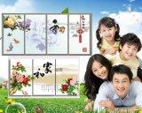 韓國無框碳晶牆暖電暖電熱壁掛畫取暖器暖氣片家用省電浴室防水