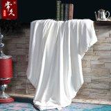 常久家居100%桑蠶雙宮繭長絲全棉貢緞提花蠶絲被加厚保暖雙人被子