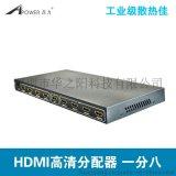 鼎力 D-9180 一进八出 HDMI高清分配器