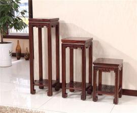 新中式实木花架