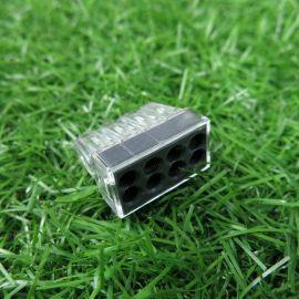 德国WAGO电线接线器建筑布线硬导线用773-108灰色8孔0.75-2.5平方