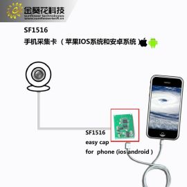 手机USB视频采集卡, 支持IOS、安卓系统