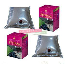 厂家专业定制阀门盒中袋 20L红酒干红葡萄酒储存保鲜袋