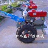 厂家直销新型农业机械微耕机 四驱旋耕机可带犁开沟松土除