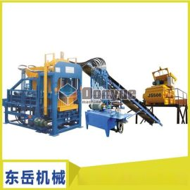 江苏扬州QT40-2型砌块成型机 空心砖机