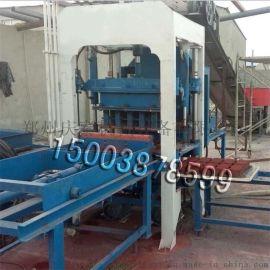 免烧砖机生产厂家 庆泰3-15水泥制砖机 空心砖机设备