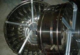 600型无动力涡轮风机不锈钢风帽'生产'屋顶自然通风器