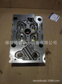 612630040001汽缸盖WP12四气门电喷柴油机用气缸盖分总成