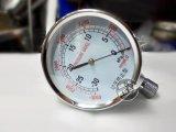 负压力表 YE-75mm表盘 过压防止型 千帕表正负压微压表 真空表