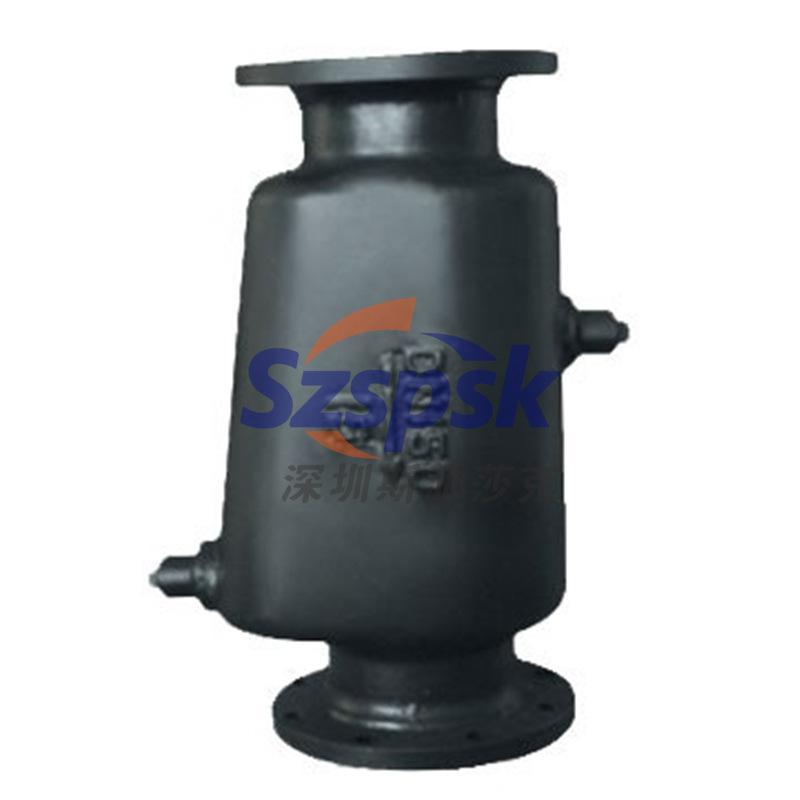 压缩机/烘干/水洗厂/印染  螺纹式汽水分离器AS罐式冷凝水分离