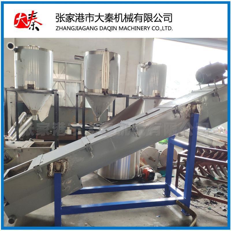 废旧PE薄膜清洗破碎机造粒机 编织袋挤出机 输液瓶造粒生产线设