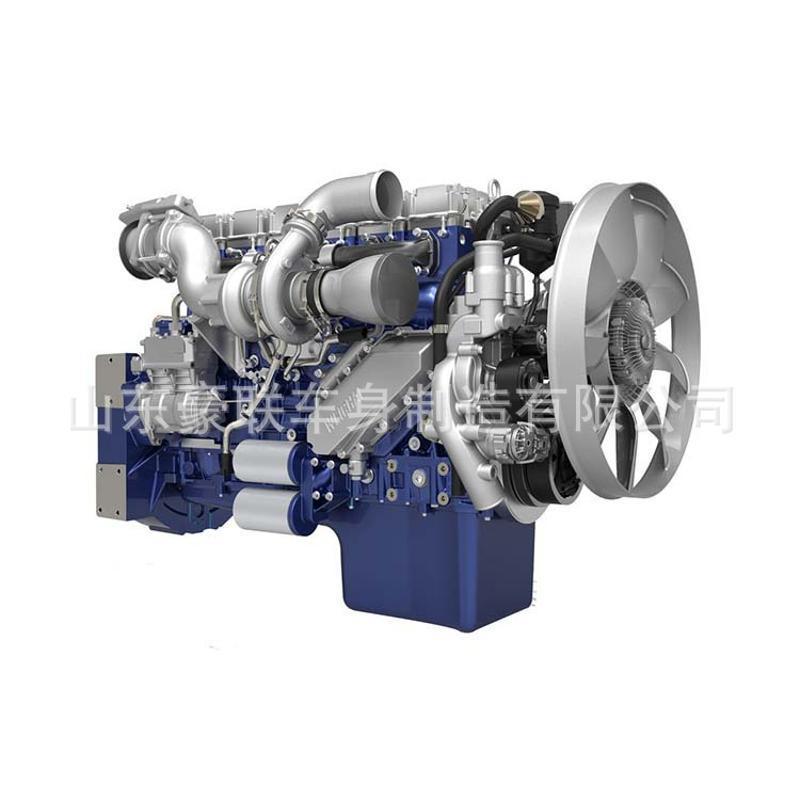 陕汽德龙发动机X3000 潍柴WP10.350E53国五 发动机 图片 价格