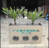 專業設計生產園藝裝飾不鏽鋼花盆  不鏽鋼種植花瓶 金屬花器