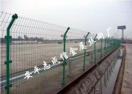 现货双边丝护栏网/绿色铁丝网/大丝电焊网