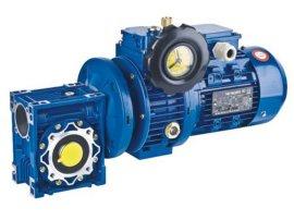 NMRV蜗轮减速机+无极调速UDL002-NMRV030