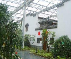 生态园温室大棚生态餐厅