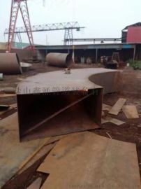 河北不鏽鋼、碳鋼合金鋼大口徑大小頭、對焊彎頭三通