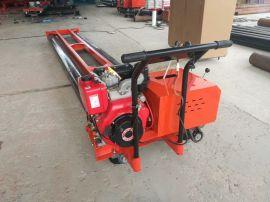 生产219型两滚轴 三辊轴摊铺机 混凝土路面整平机