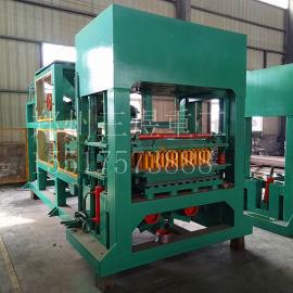 移动式水泥空心砖机  全自动液压连锁砖机设备