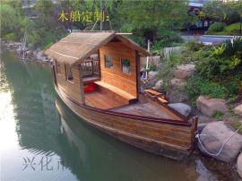 手工定制马尔代夫景观木船