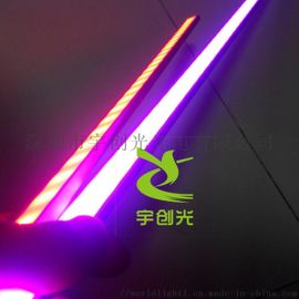 5050rgb变色护栏外墙亮化led硬灯条