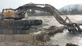 景德镇挖机耐用抽渣泵 沙河抽沙专用淘沙泵 液压大功率采砂泵