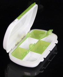 ** 6格 密封圈防水 药盒 塑胶盒  包装盒