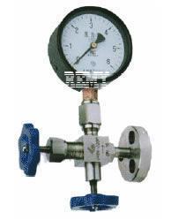 J49H法兰式压力表针型阀