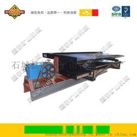 选锰矿就选玻璃钢摇床,高度提纯洗金设备轻重扫选分选重力选矿设备