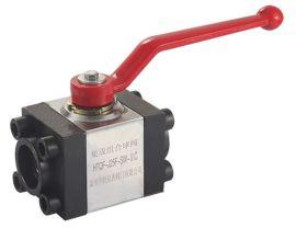 厂家直销 HTQF集成组合球阀 不锈钢液压法兰球阀 对焊球阀