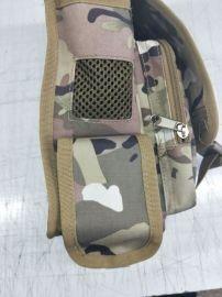 上海定制迷彩包 腰包 挎包 零件包来图打样可添加logo