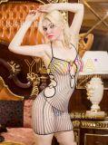 YILIANNA倾情奉献情趣丝袜外贸精品爆款性感网花短裙情趣内衣