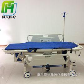 ABS液压升降平车手术交换车 医用不锈钢对接车