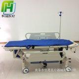 ABS液壓升降平車手術交換車 醫用不鏽鋼對接車