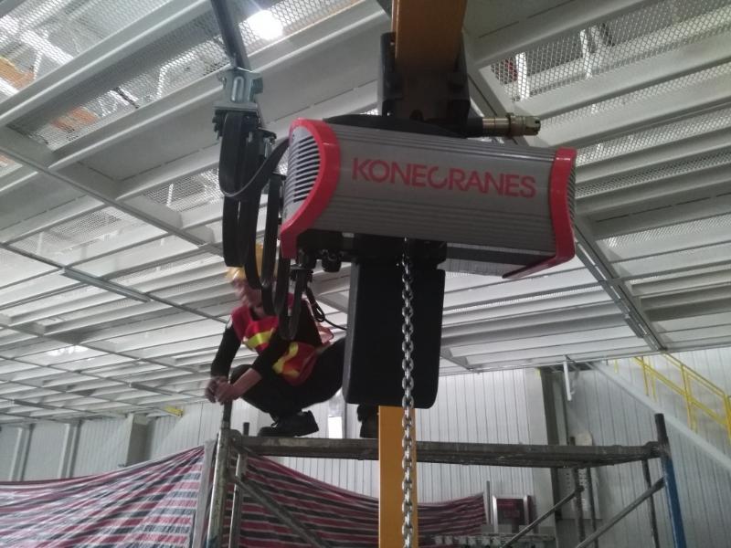 科尼环链电动葫芦  德马格环链葫芦