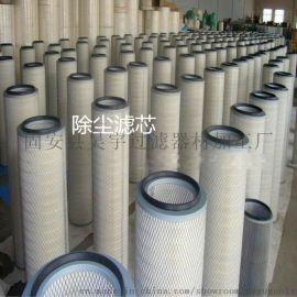 吴宇过滤材料生产聚酯纤维无纺布覆膜阻燃式粉尘滤筒