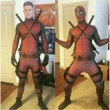 cosplay Deadpool 复仇者联盟死侍紧身衣服数码3D印花全包紧身衣