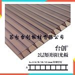格爾木市3mmPC陽光板、茶色、湖藍、乳白、透明,耐力板陽光板可定做