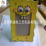 供应PVC软胶卡通相框 塑胶相框 广告相框
