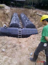 玻璃钢化粪池壁厚度的标准-施工方便-霈凯环保