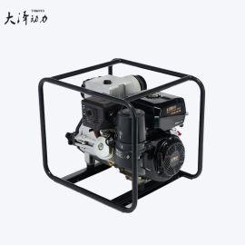 3寸移动式柴油水泵扬程高