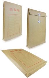 平顶山牛皮纸a4文件袋定制 白色档案袋设计制作