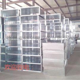 专业生产通风管道 镀锌钢板风管 共板法兰风管品质好