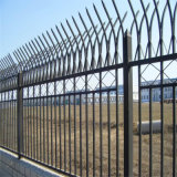 鐵藝圍欄柵欄 定製歐式鐵藝護欄網 小區圍牆網