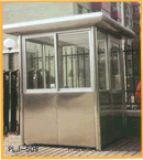 陽西塑料崗亭 .不鏽鋼崗亭安裝廠家直銷