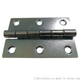 铁镀锌蝶形铰链 工业重型平开合页 2寸